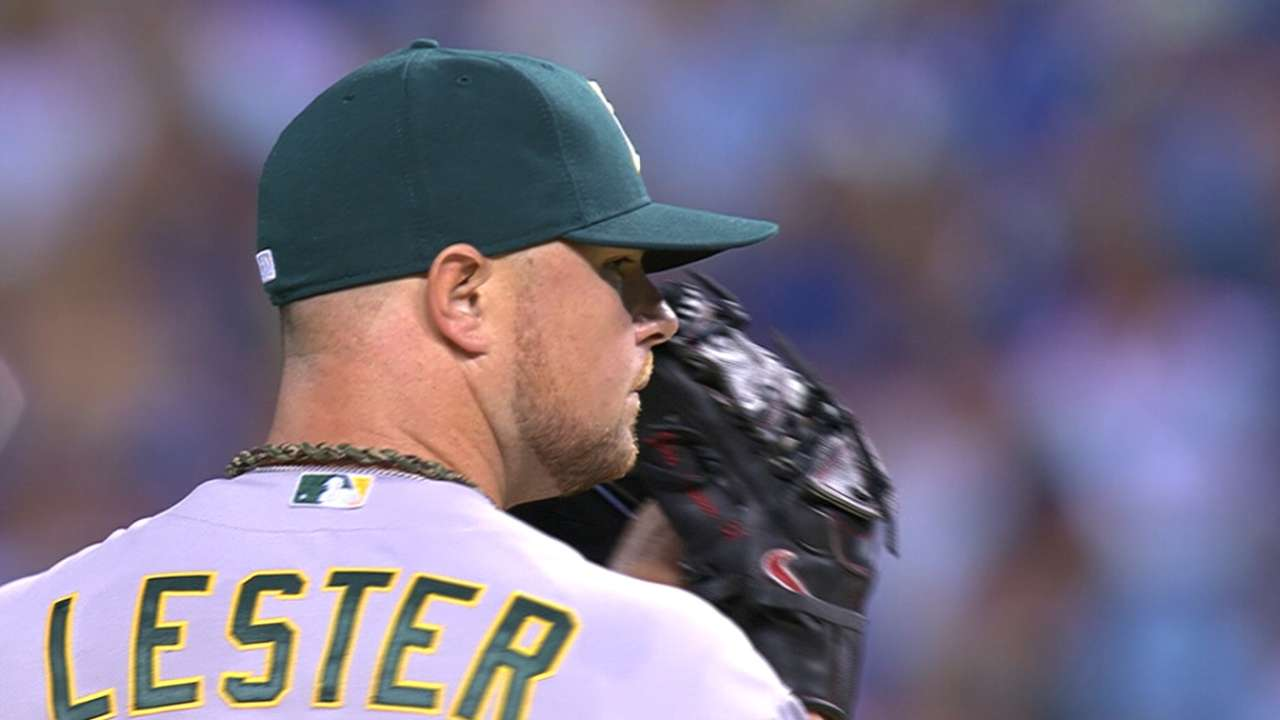 Breaking down the numbers of Lester's contract