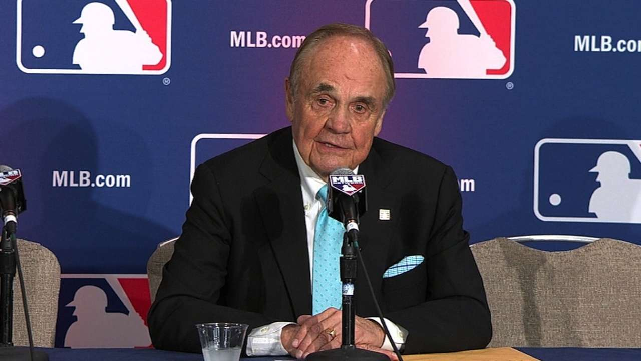 For Frick speech, Enberg finding perfect words