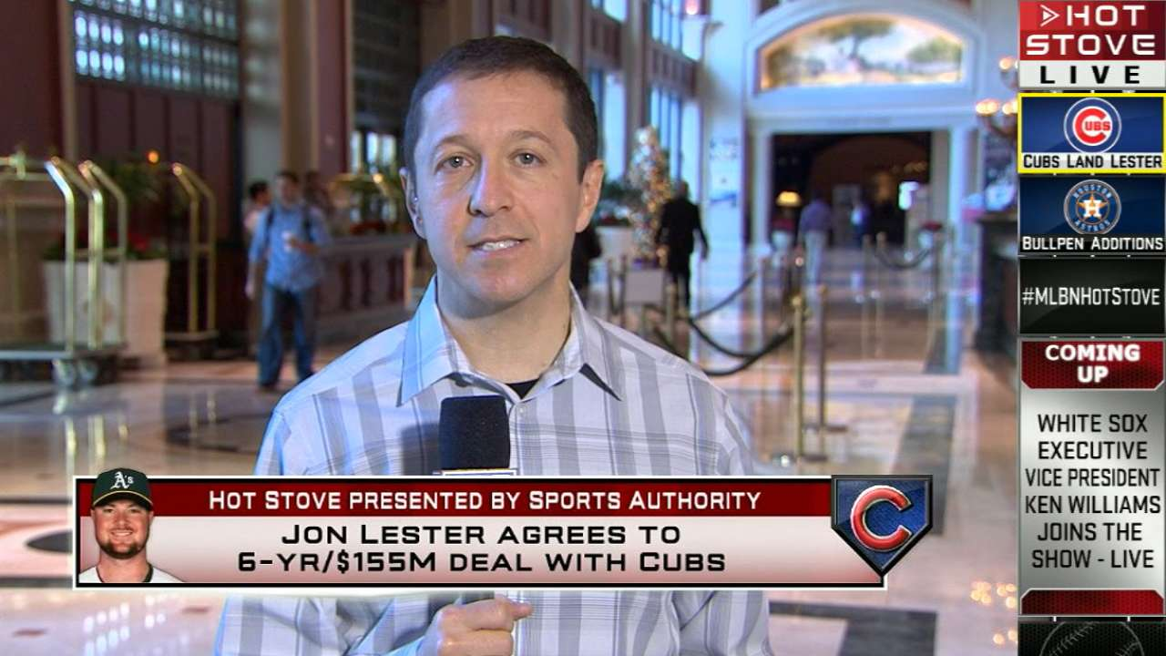Hot Stove: Rosenthal on Lester