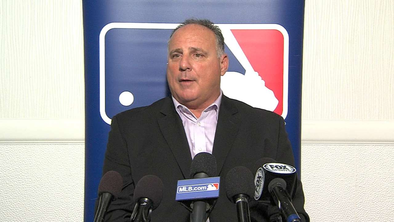Scioscia on offseason goals