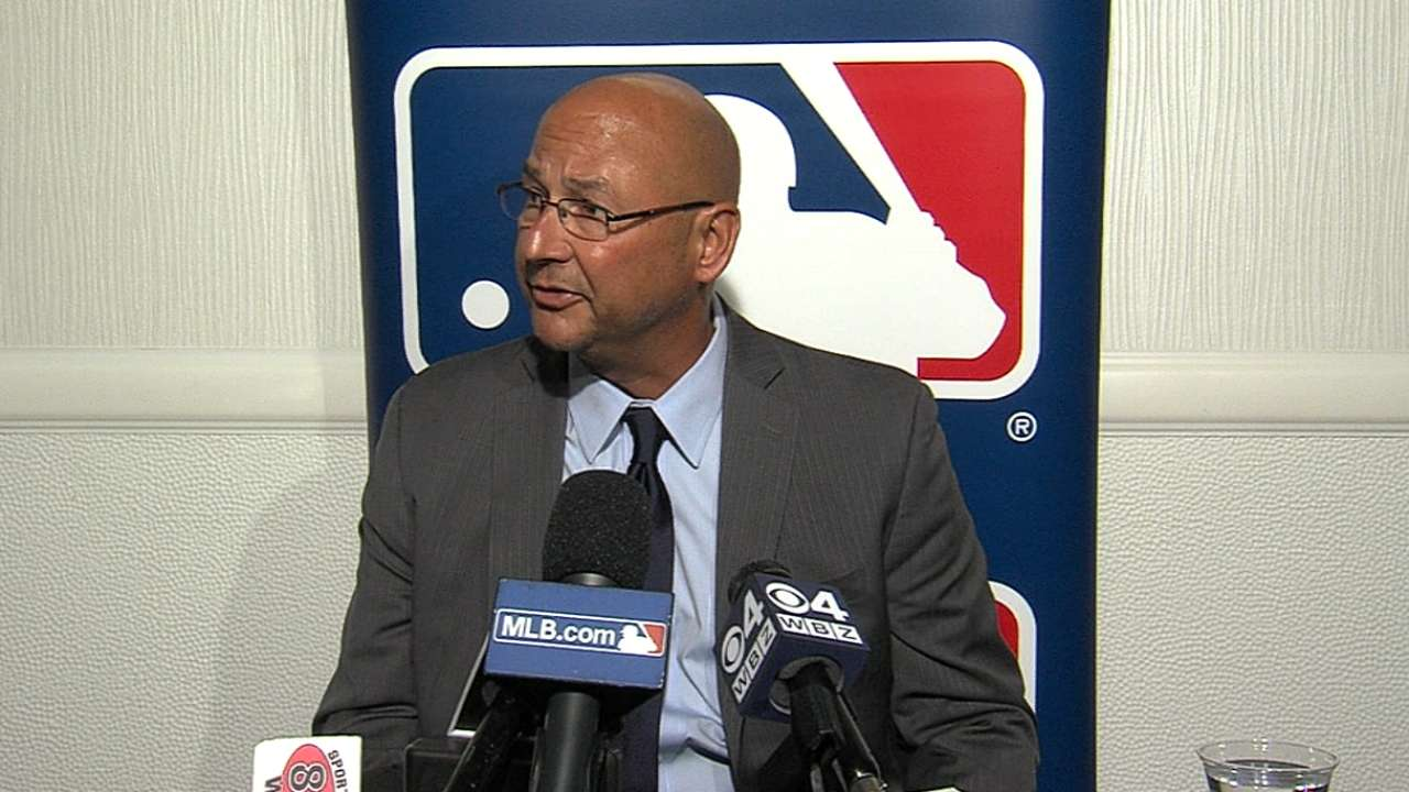 Francona on Indians' top needs