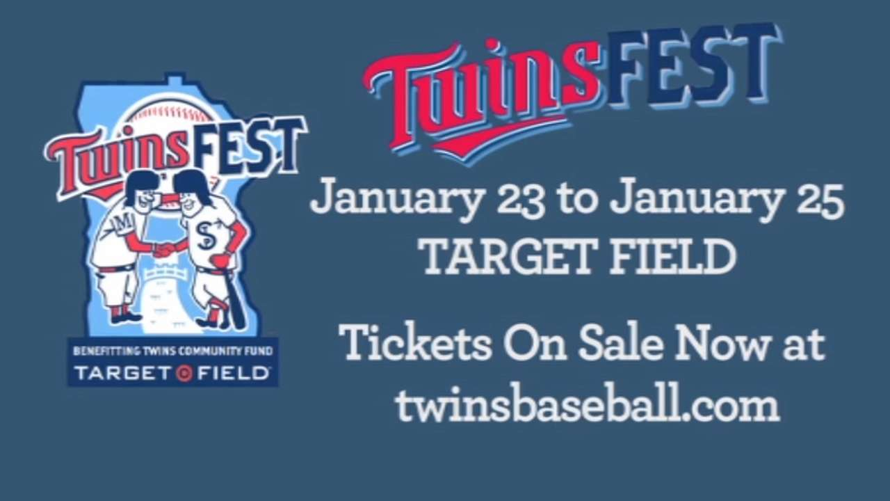 New fun for fans as Target Field set to host TwinsFest