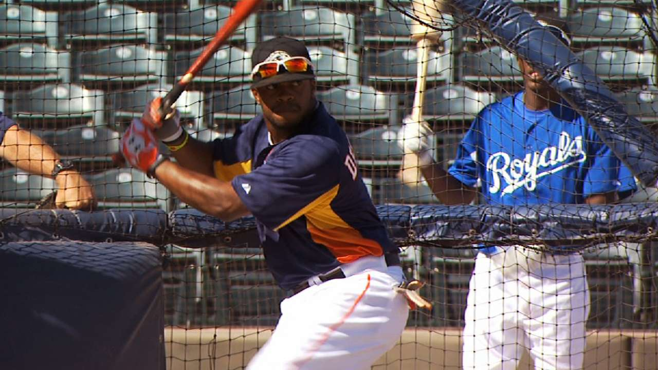 Astros lose DeShields, two others in Rule 5 Draft