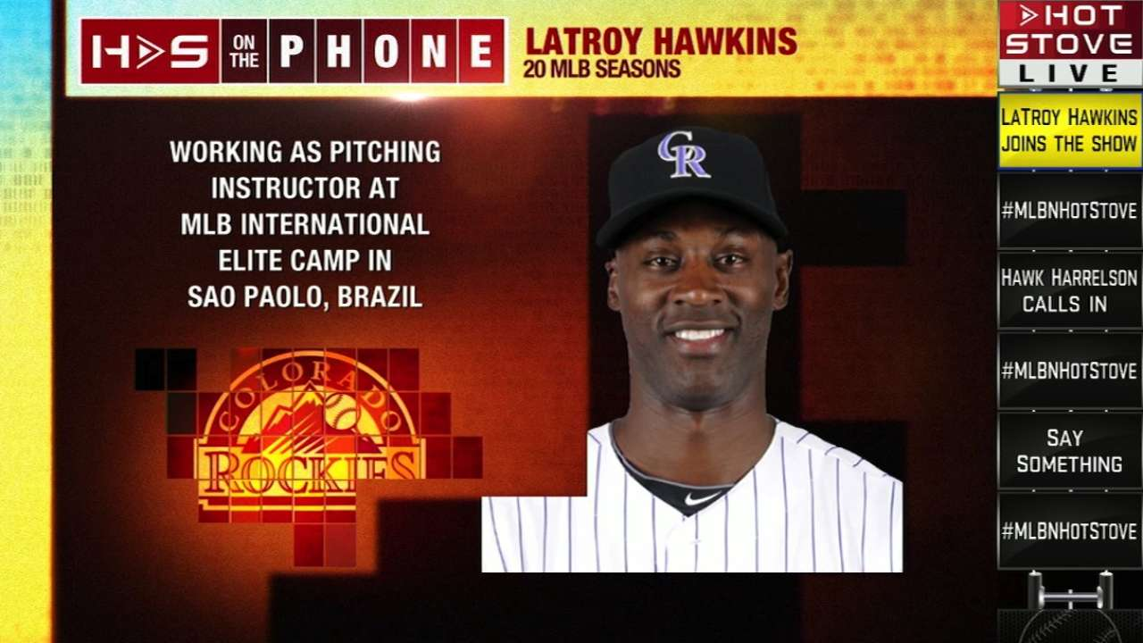 LaTroy Hawkins on Hot Stove