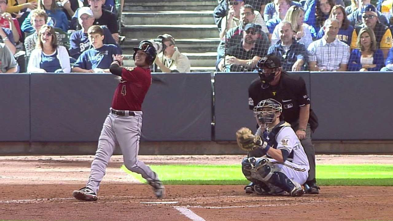 Lowrie's solo homer