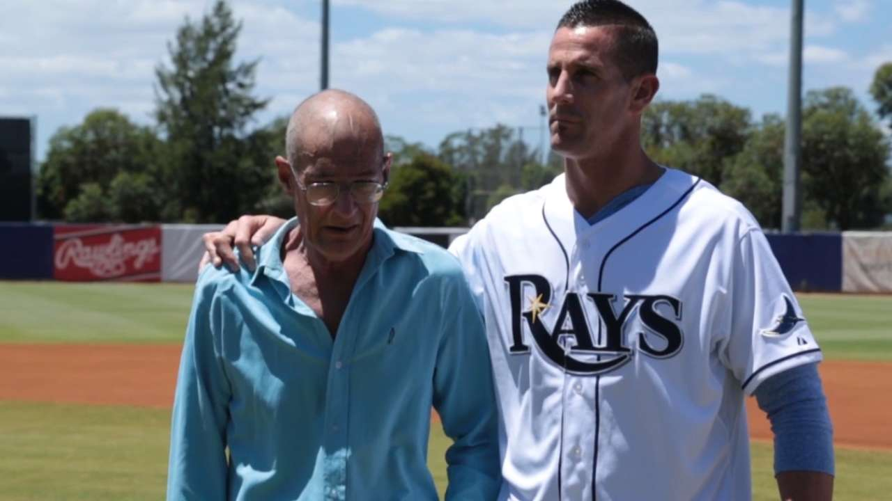 Balfour's father passes away from pancreatic cancer