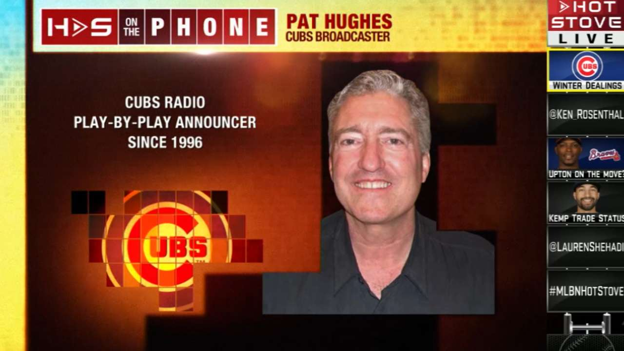 Hughes named Illinois Sportscaster of the Year