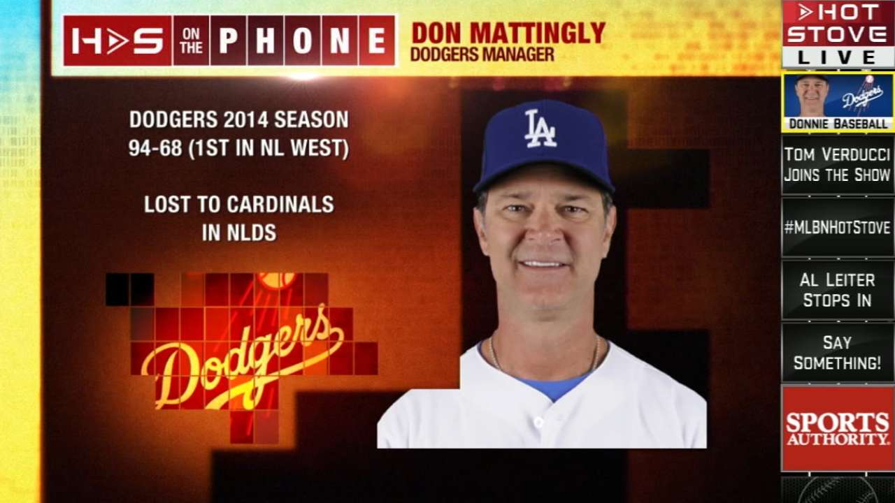 Mattingly: LA 'more of a team' after roster turnover