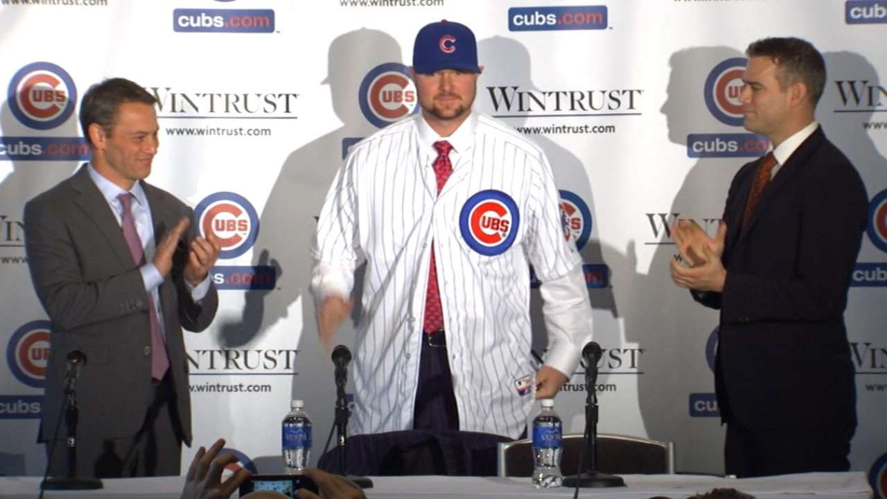 Lester leads new-look Cubs