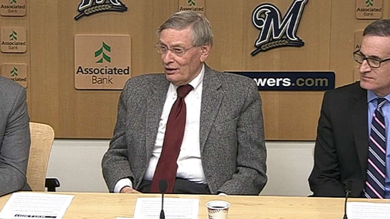 Selig on hearing from Lombardi