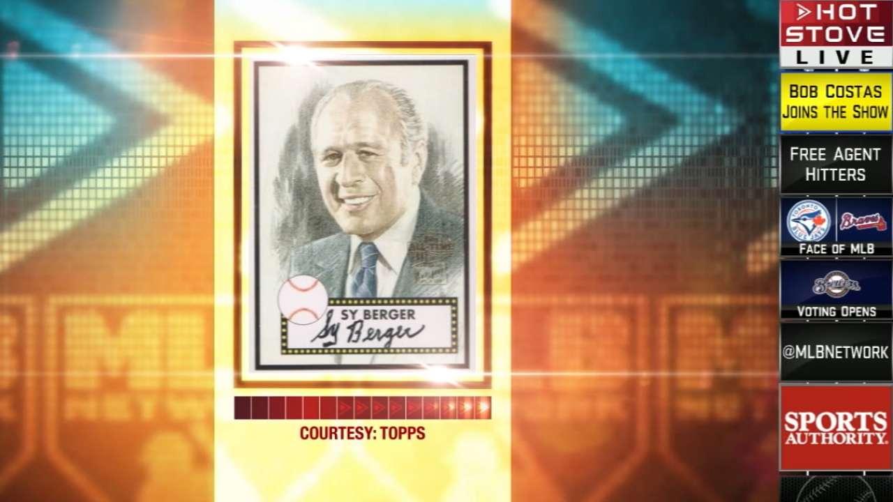 Baseball card pioneer Berger dies at 91