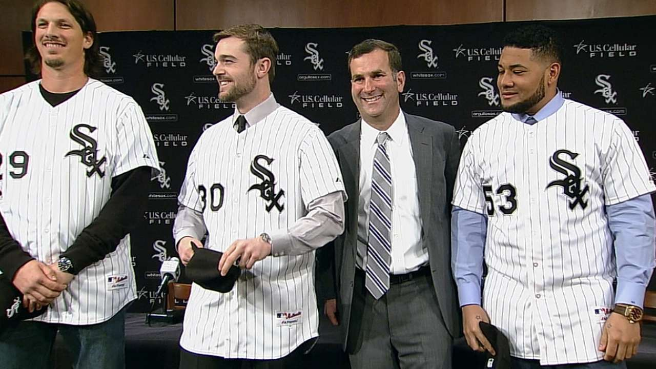 White Sox introduce new players