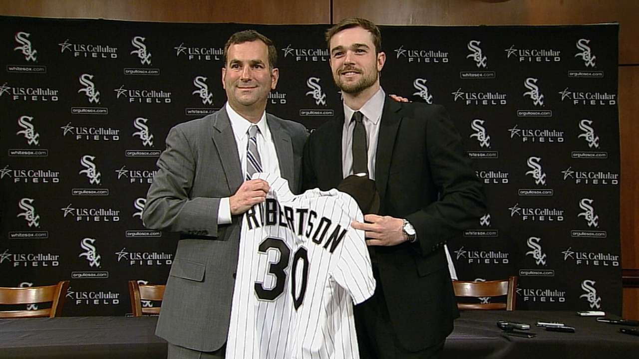 Robertson on joining White Sox