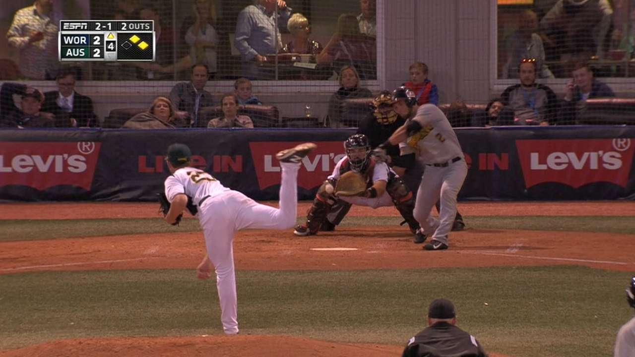 Murphy's RBI forceout