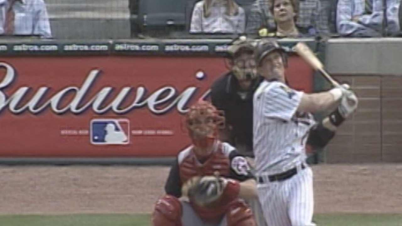 Biggio blossomed with Astros