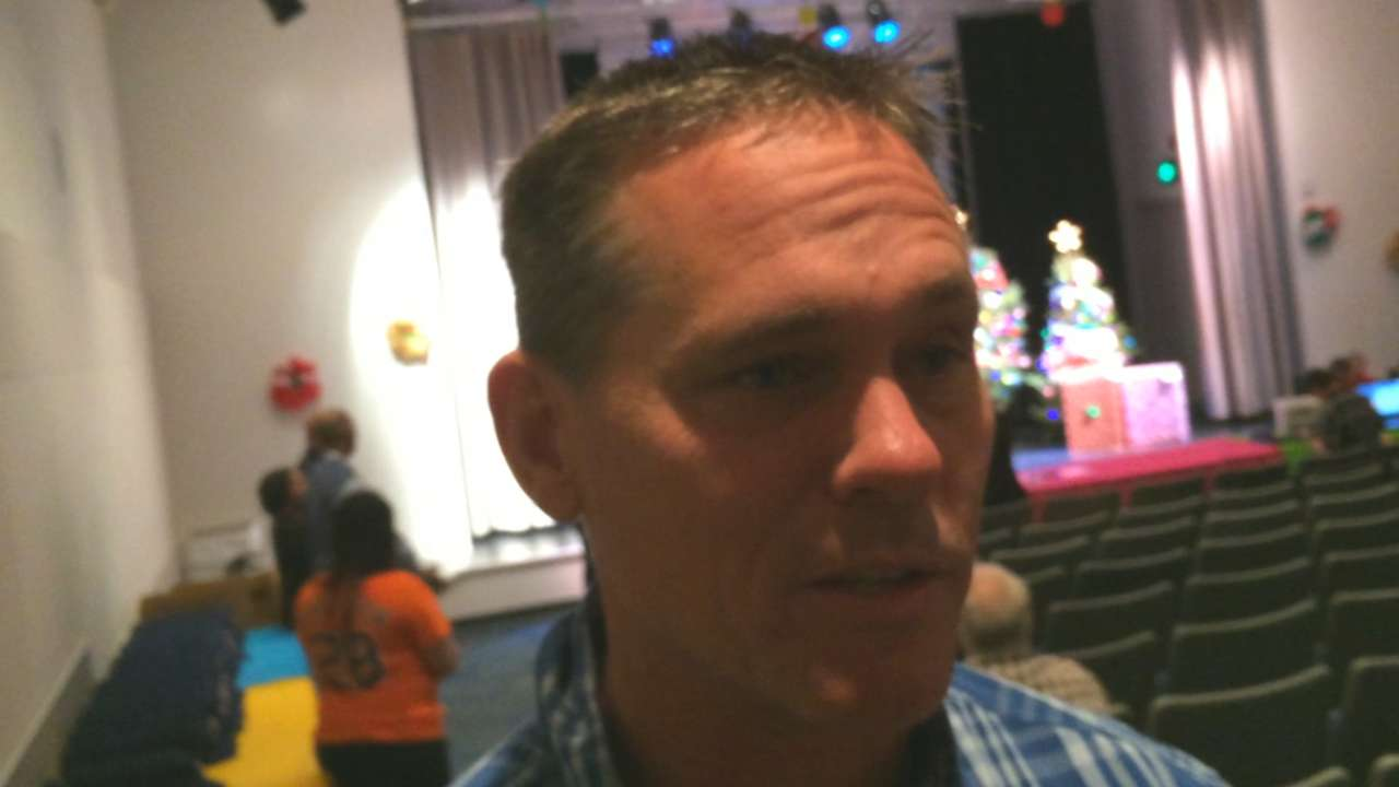 Biggio remains active in helping children with cancer