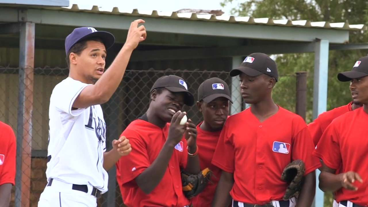 Well-traveled Leiper assists young players in South Africa