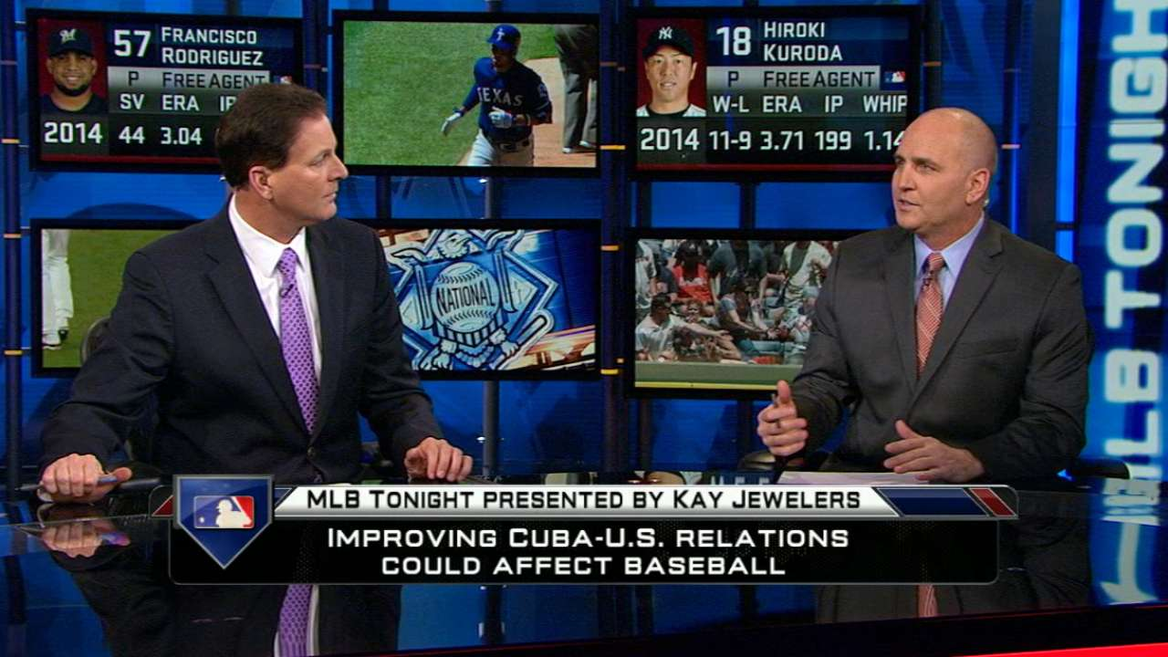 MLB Tonight: Cuban relations