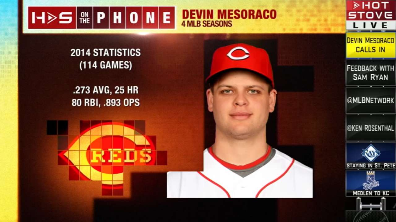 Mesoraco chats with Hot Stove