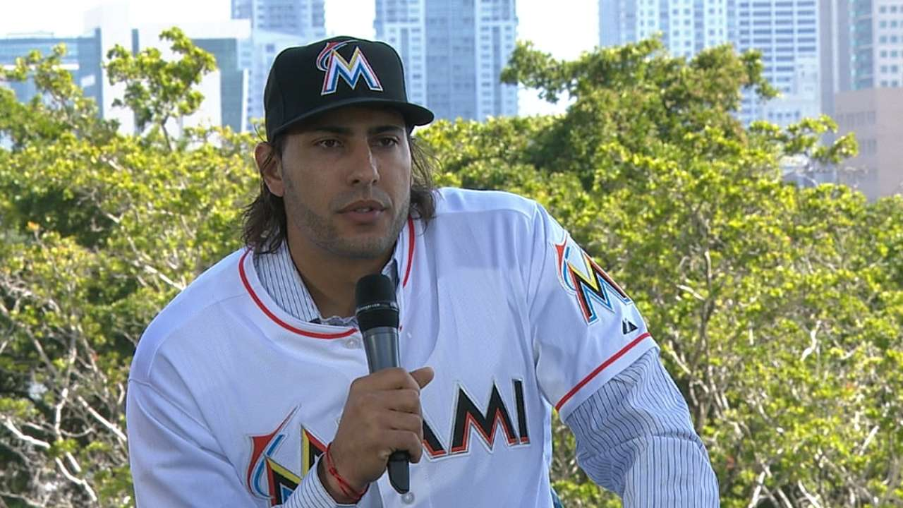 Morse excited to join Marlins