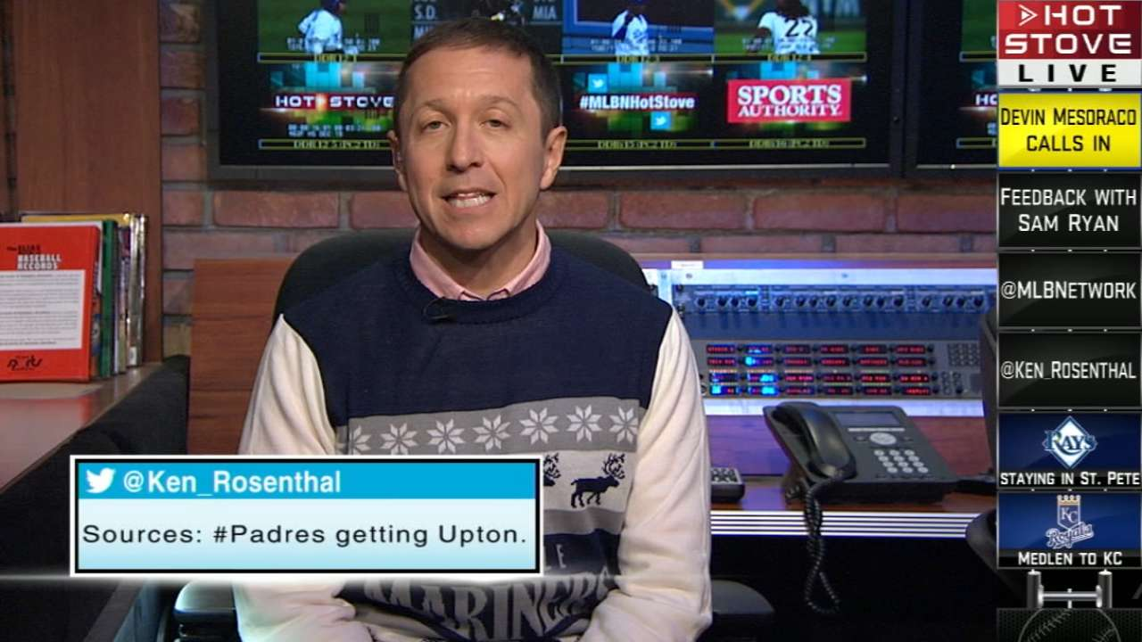 Breaking News: Upton to Padres