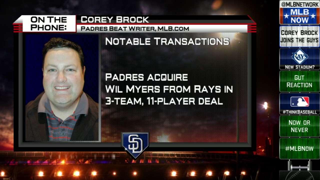Brock Talks Padres' Big Moves