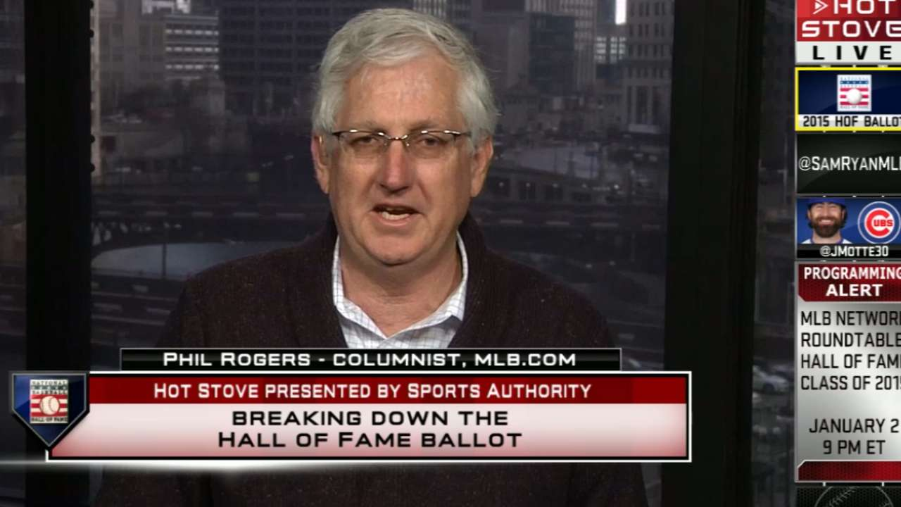 MLB.com reporters reveal their Hall of Fame ballots