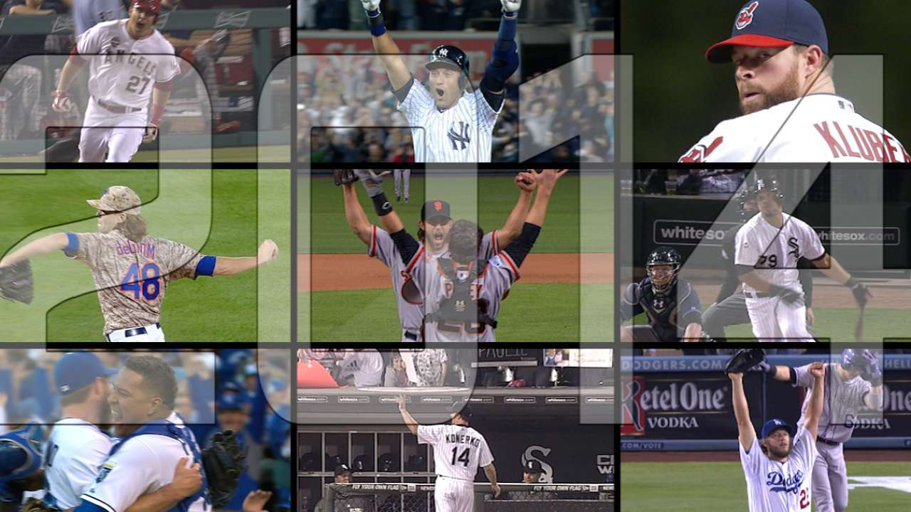 Fresh faces in '15: Baseball's history continues to unfold