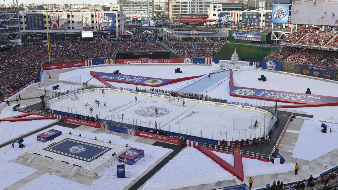 Wild finish caps NHL Winter Classic at Nationals Park