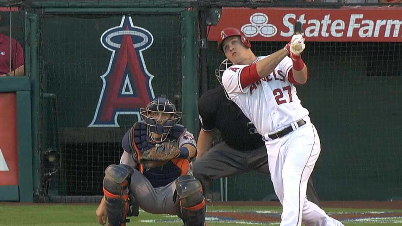 Legendary status for Trout after 3 seasons