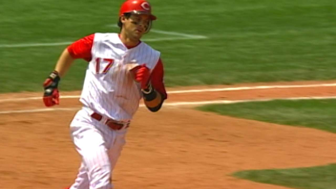 Boone among ex-Reds to make brief ballot appearance