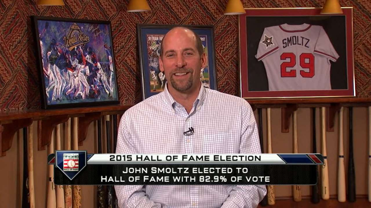 Smoltz on Hall of Fame honor