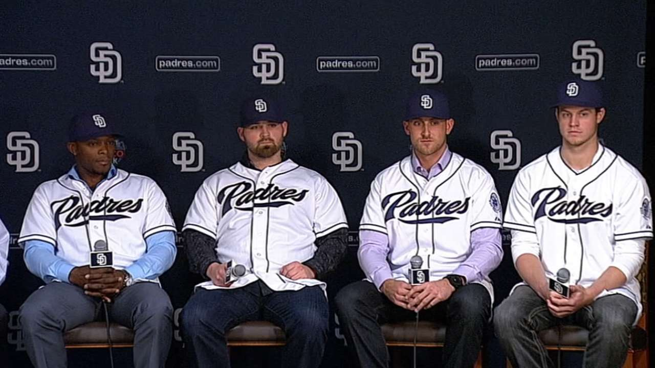 Padres have legion of fresh faces for 2015 Spring Training