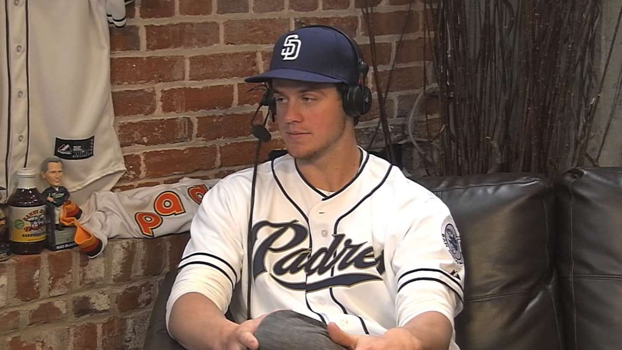 Myers on new role with Padres