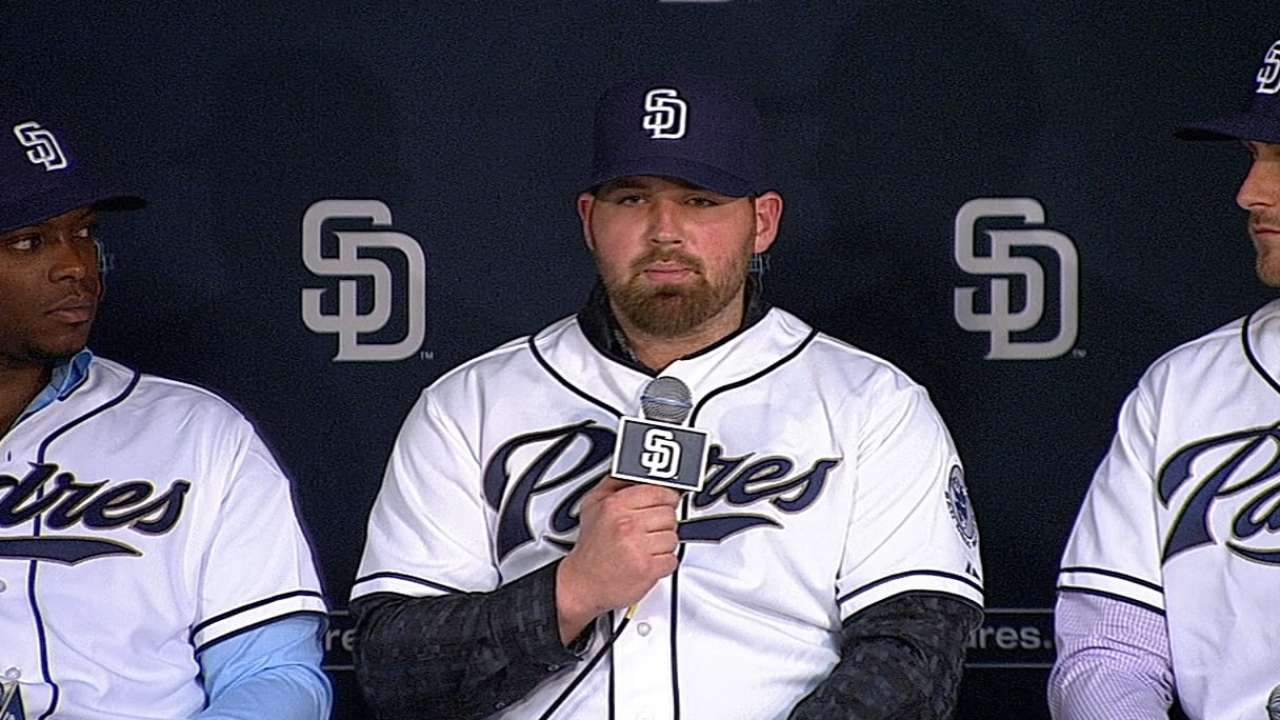 Norris excited to join Padres