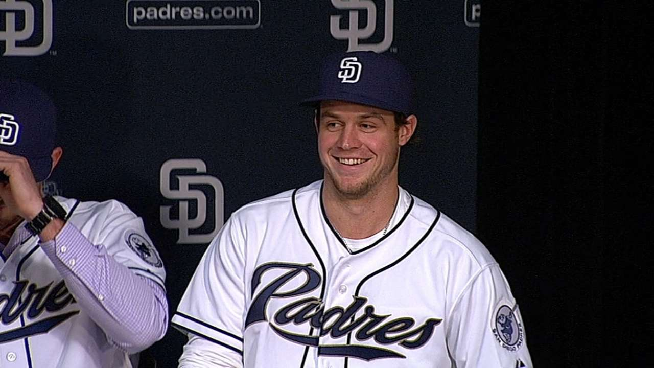 Now healthy, Myers ready for next chapter with Padres