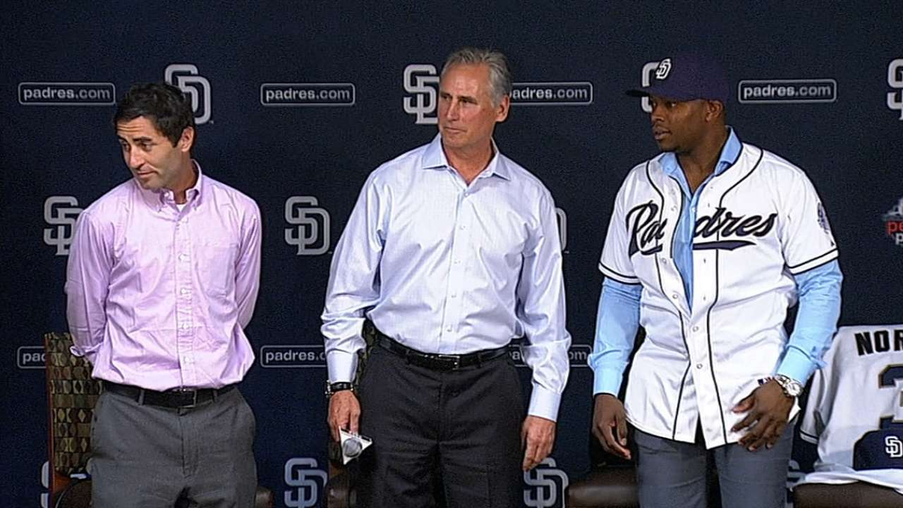 Upton ready to contribute in heart of Padres order
