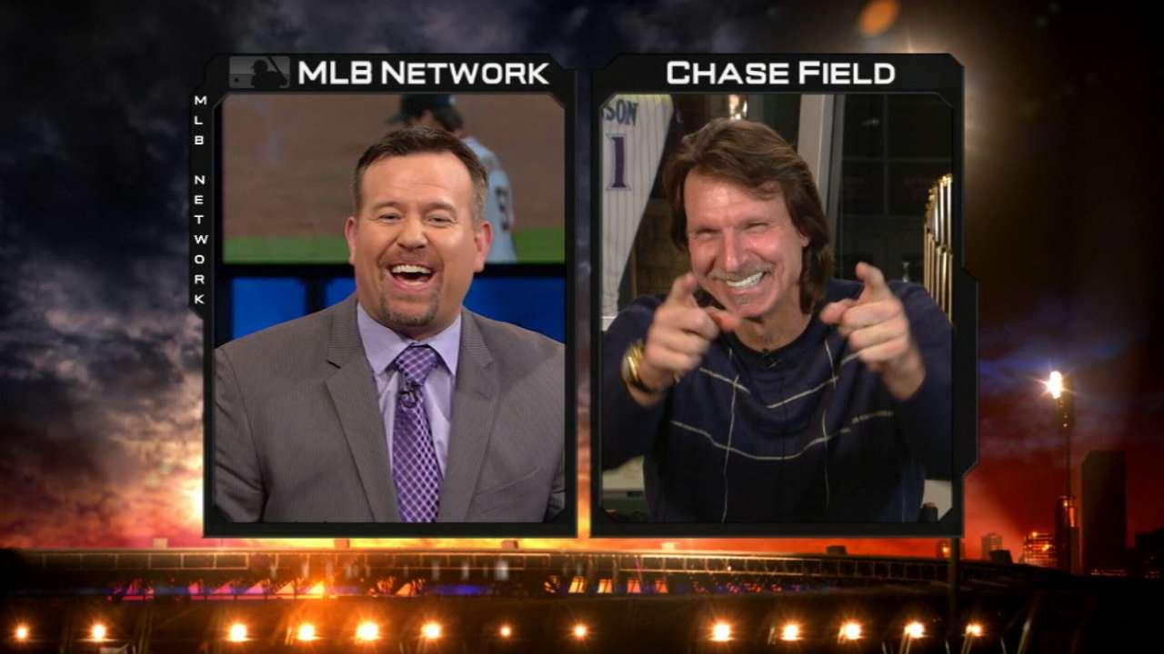 Johnson talks HOF on MLB Tonight
