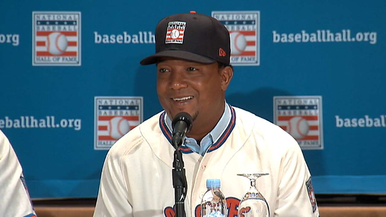 Pedro on Cooperstown visits
