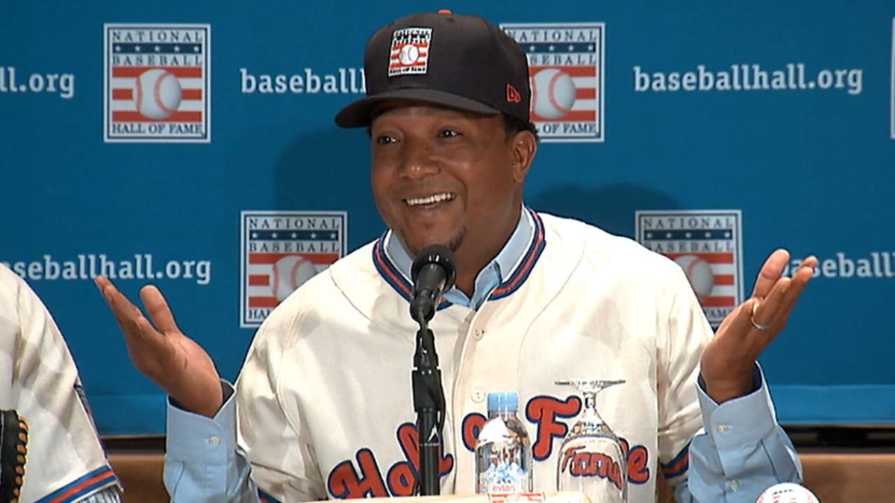 Pedro still in awe about getting call to Hall