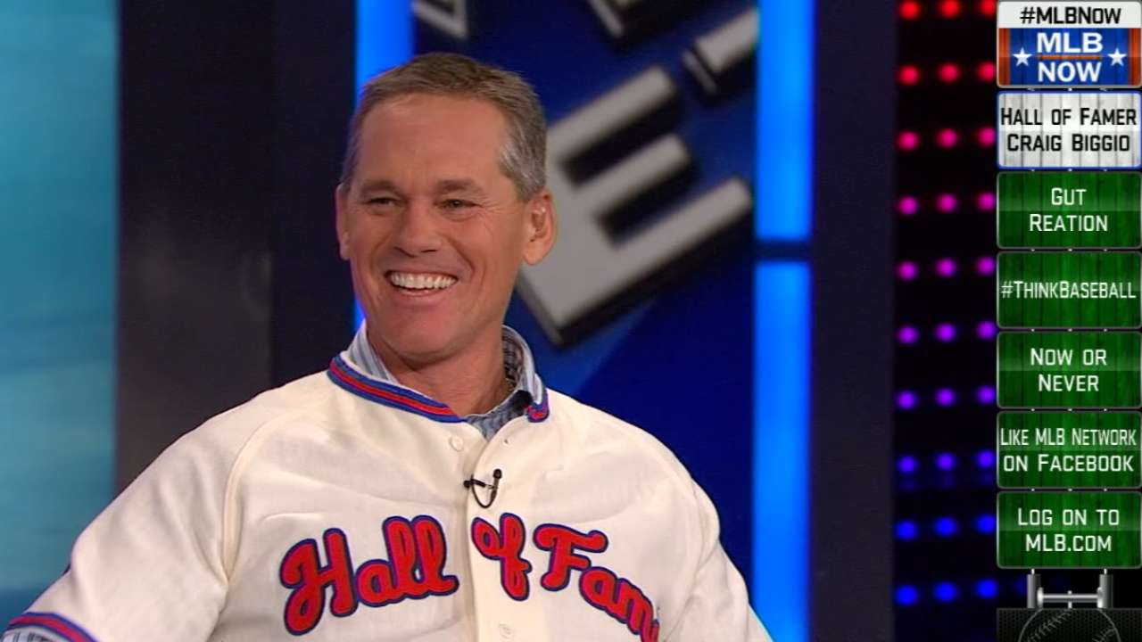 Biggio in final stages of prep for HOF induction
