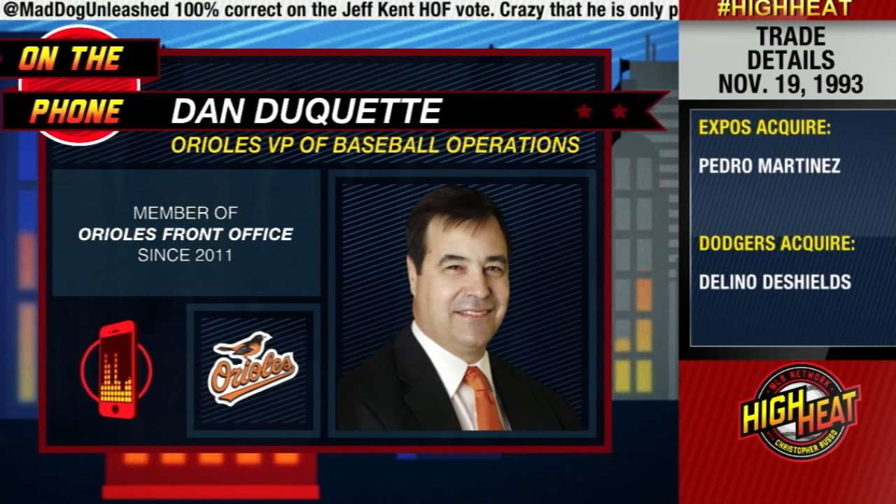 Dan Duquette joins High Heat