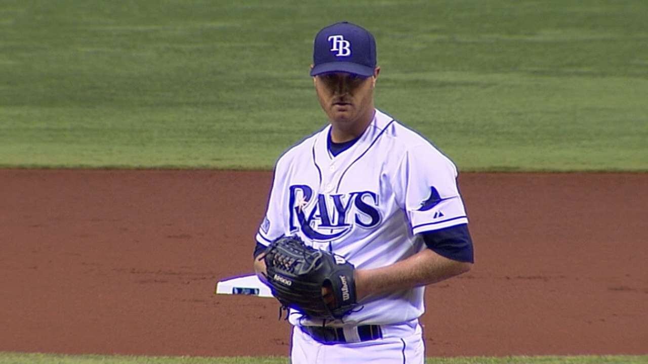 Cobb set to lead Rays' rotation