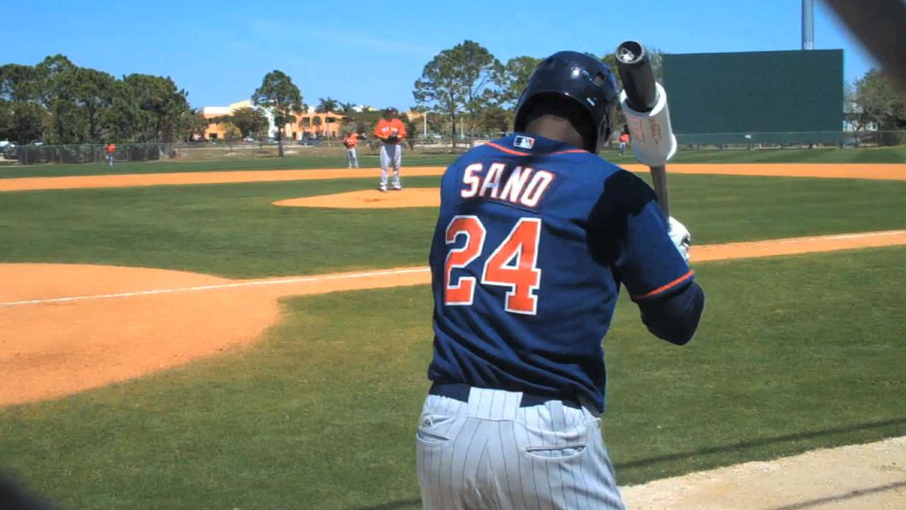 Top prospects Sano, Meyer contribute in Twins' tie with Bucs