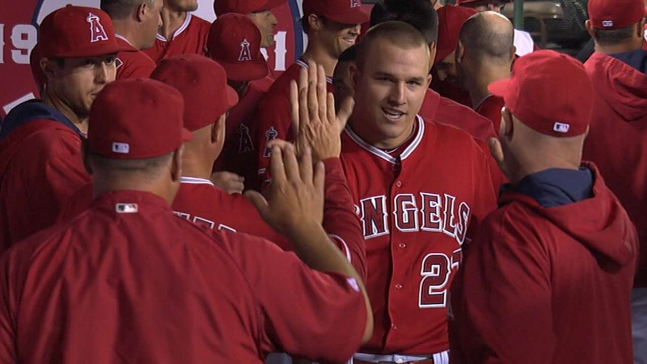 Tim Salmon's favorite player: Mike Trout