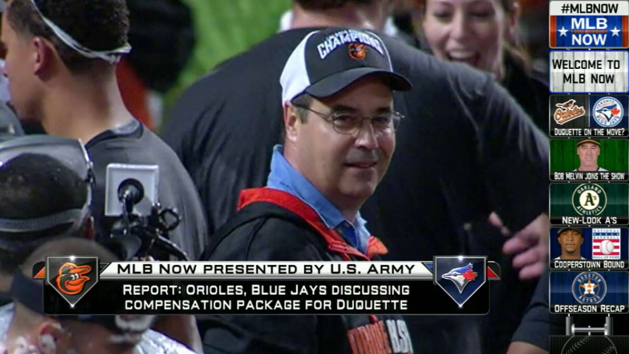Duquette back on top after hiatus from game