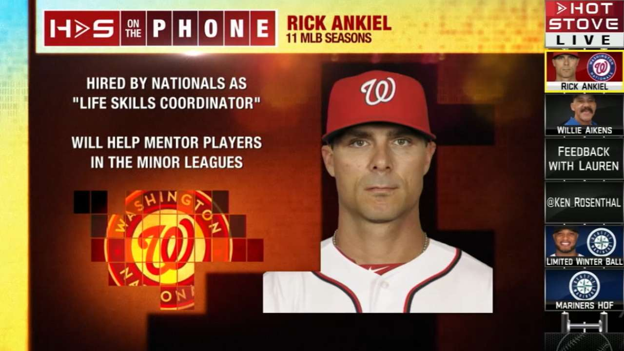 Ankiel brings wealth of experience to new role
