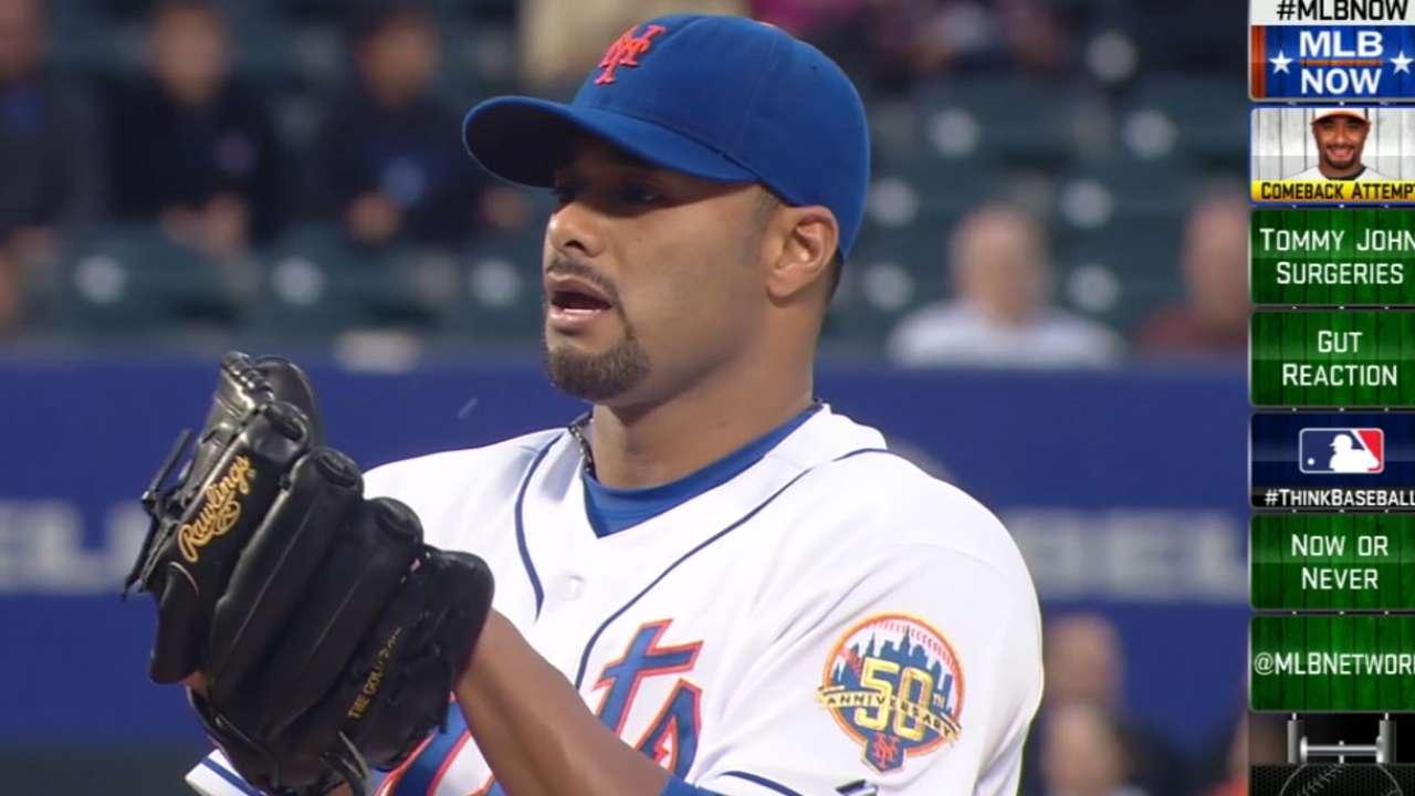 MLB Now on Santana's Comeback