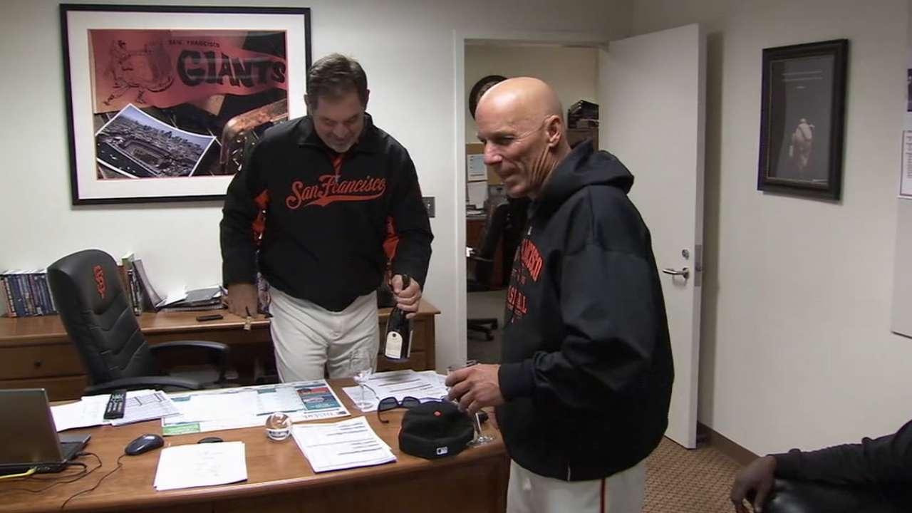 Bochy-Flannery friendship focus of MLBN show