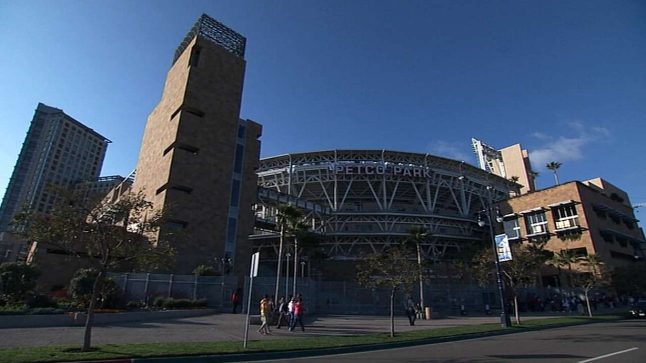 Padres' Petco Park selected to host '16 All-Star Game
